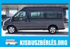 9 személyes kisbusz bérlés, buszos személyszállítás